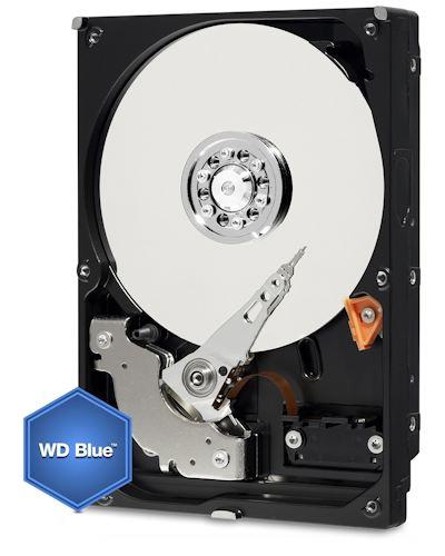 2 TB int. Festplatte 7.200 RPM SATA 3,5 WD